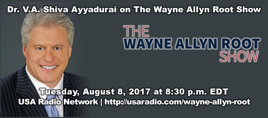 Shiva Ayyadurai on The Wayne Allyn Root Show
