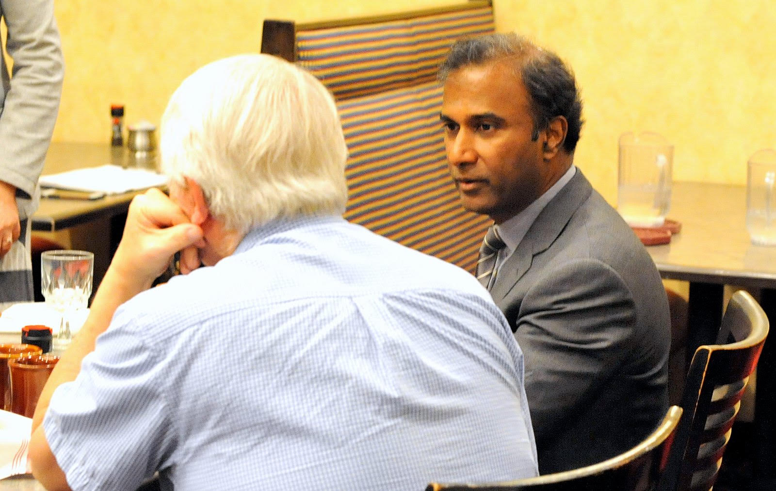 Dr. V.A. Shiva Ayyadurai at the luncheon meeting of Rotary Club of Acton-Boxborough