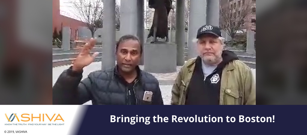 Bringing the Revolution to Boston!