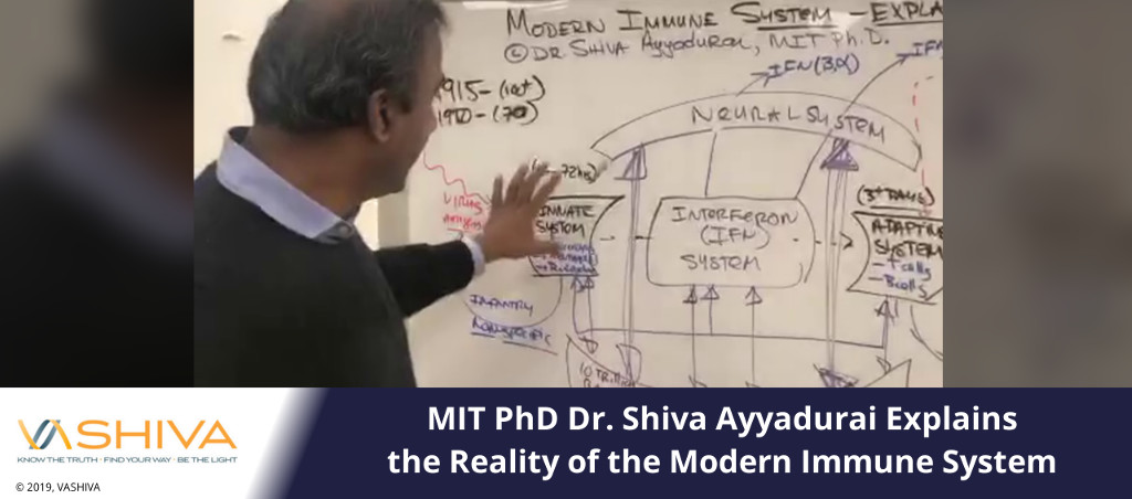 MIT PhD Dr. Shiva Ayyadurai Explains the Reality of the Modern Immune System