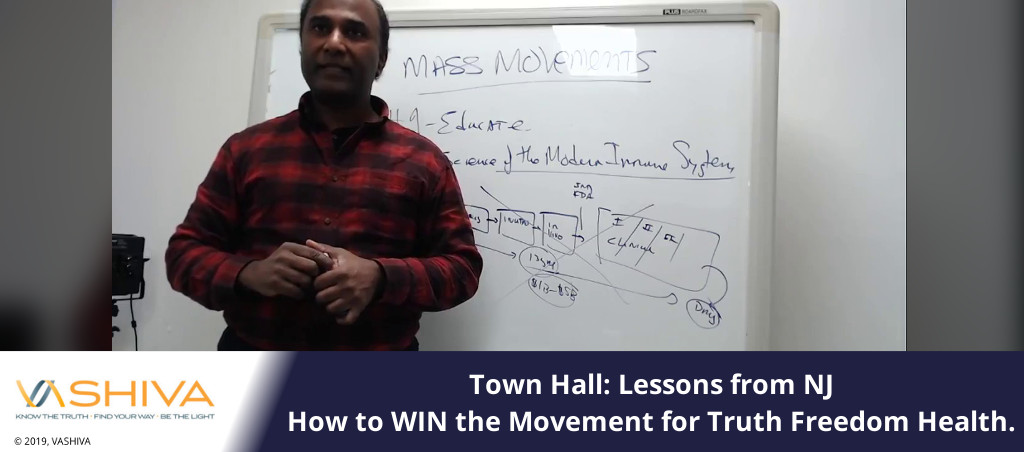Town Hall - Lessons from NJ. How to WIN the Movement for Truth Freedom Health.