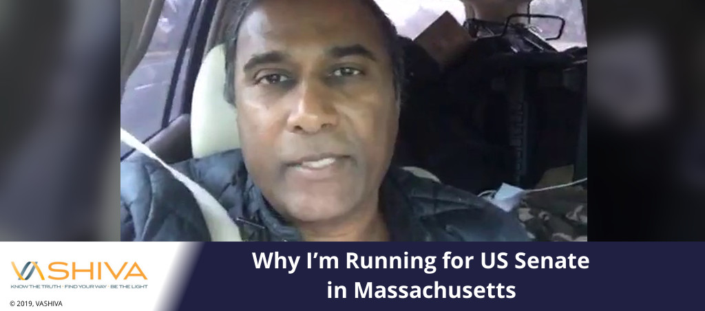 Why I'm Running for US Senate in Massachusetts